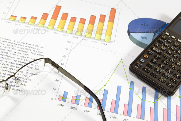Finantial analysis - Stock Photo - Images