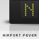 Airport Fever - Modern Alphabets & Numbers - GraphicRiver Item for Sale