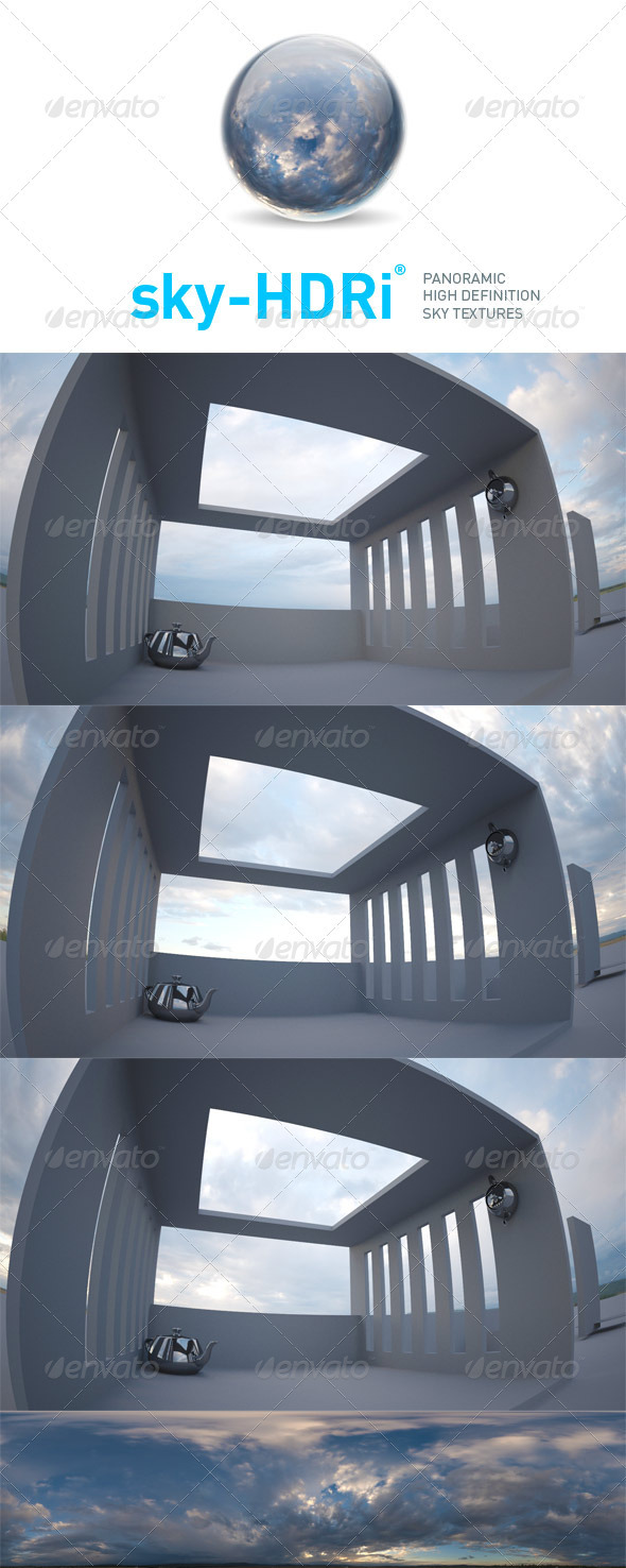 sky-HDRi-06 - 3DOcean Item for Sale