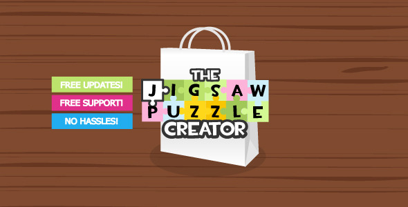 Jigsaw Puzzle Creator - ActiveDen Item for Sale