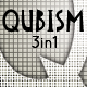 Qubism; Picasso inspired this 3-in-1 Font Set - GraphicRiver Item for Sale