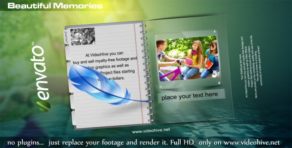 After Effects Project - VideoHive Beautiful Memories 2700681