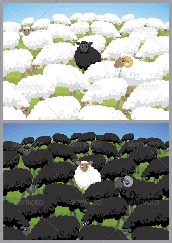 GraphicRiver Black Sheep 99509