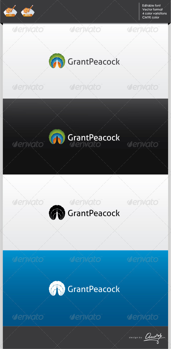 GraphicRiver Grant Peacock logo template 2701951