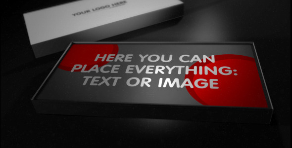 After Effects Project - VideoHive Box of Cards 2702437