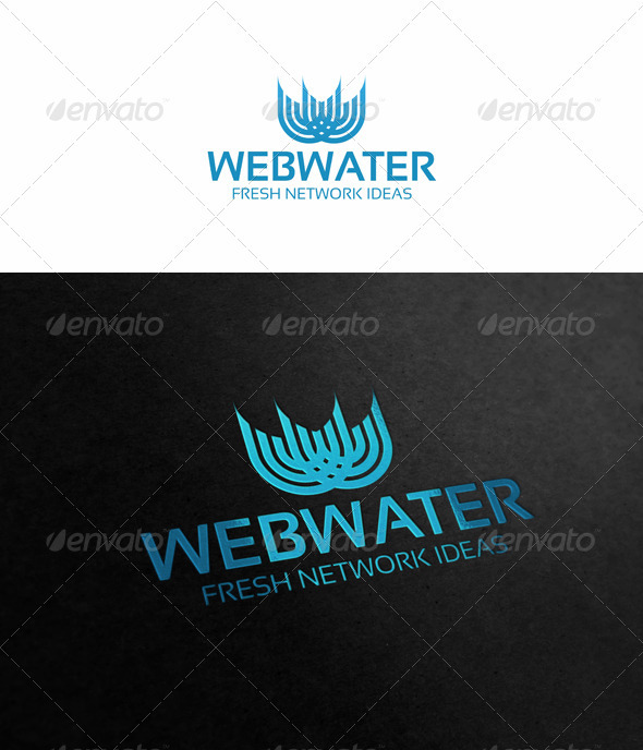 W-Logo.Webwater - Letters Logo Templates