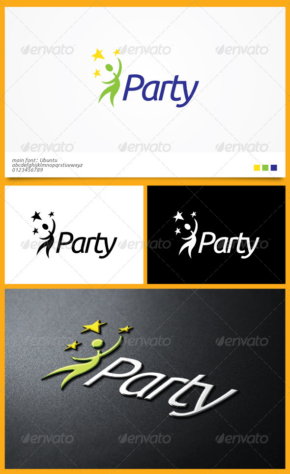 Party Logo Template - Humans Logo Templates