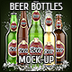 Beer Bottles Mock-Up - GraphicRiver Item for Sale