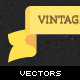 Vintage Vector Ribbon Banners 2 - GraphicRiver Item for Sale