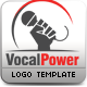 Vocal Power Logo Template - GraphicRiver Item for Sale