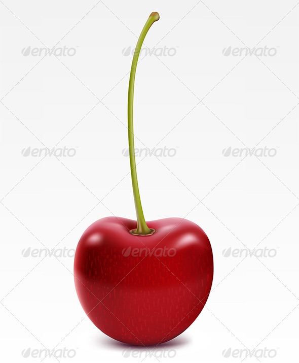 Ripe cherry - Food Objects
