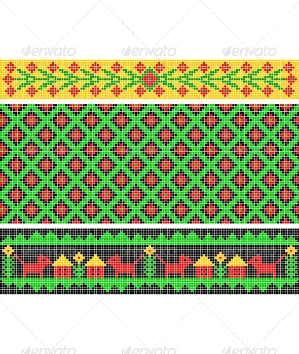 Ethnic ornament. - Patterns Decorative