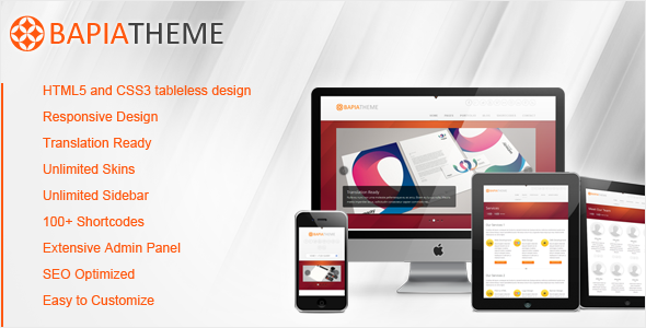 Bapia - Responsive Business WordPress Theme