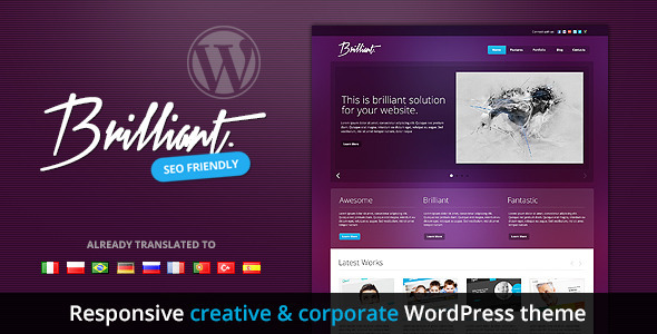Brilliant - Responsive Creative & Corporate Theme