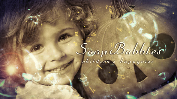 VideoHive Soap Bubbles Slide 2714686