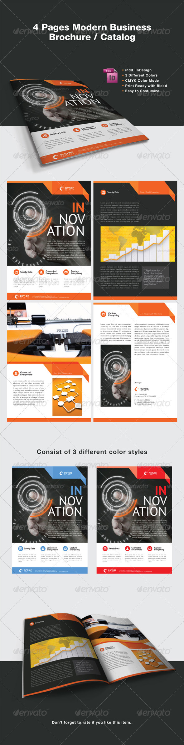 GraphicRiver Modern Business Brochure Catalog 2703211