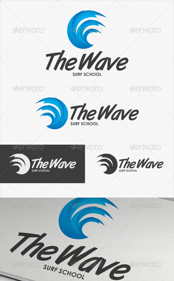 The Wave logo - Symbols Logo Templates