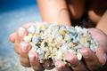 Handful of White Stones - PhotoDune Item for Sale