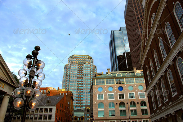 Royalty Free Stock Photography : Boston Downtown Photodune 188453