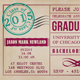 Graduation Invitation Card - GraphicRiver Item for Sale