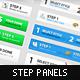 Step Process Panels Mega Se-Graphicriver中文最全的素材分享平台