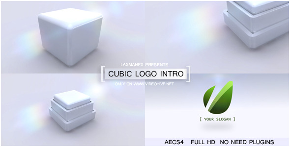 VideoHive Cubic Logo Intro 2720535