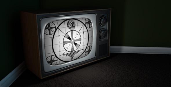 3DOcean Vintage Television 2287470
