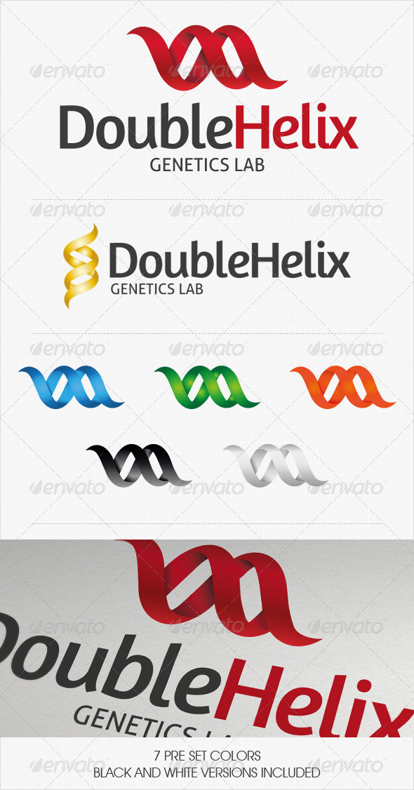 GraphicRiver Double Helix Logo 2703430