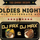 Oldies Night Party Flyer Template - GraphicRiver Item for Sale