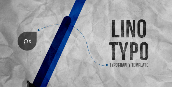After Effects Project - VideoHive Lino Typography 2723240