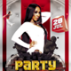 Party Non Stop Flyer Template - GraphicRiver Item for Sale