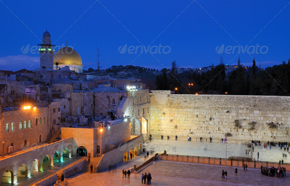 Western Wall - Stock Photo - Images