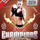 Sport Champions Flyer  - GraphicRiver Item for Sale