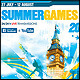 Summer Games Poster/Flyer - GraphicRiver Item for Sale