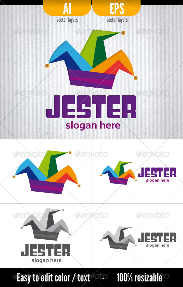 Jester - Objects Logo Templates