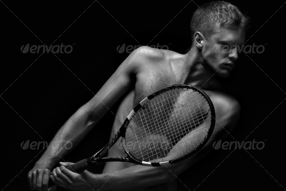 Sexy racket. - Stock Photo - Images