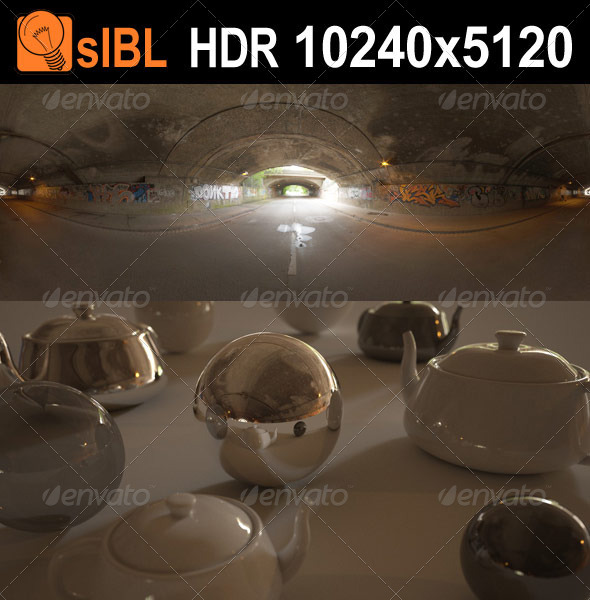 HDR 120 Tunnel sIBL - 3DOcean Item for Sale