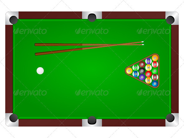GraphicRiver Pool table 2730430