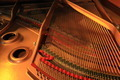 Inside Piano in Twilight - PhotoDune Item for Sale