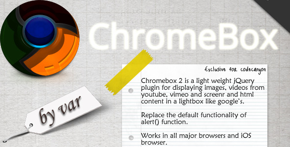 Chromebox - WorldWideScripts.net Item for Sale