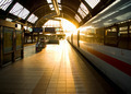 Morning at the karlsruhe train station - PhotoDune Item for Sale