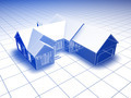 3D Blueprint House - PhotoDune Item for Sale