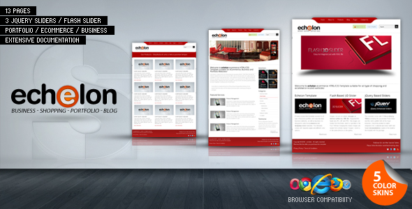 echelon - Business | Portfolio | eCommerce | Blog