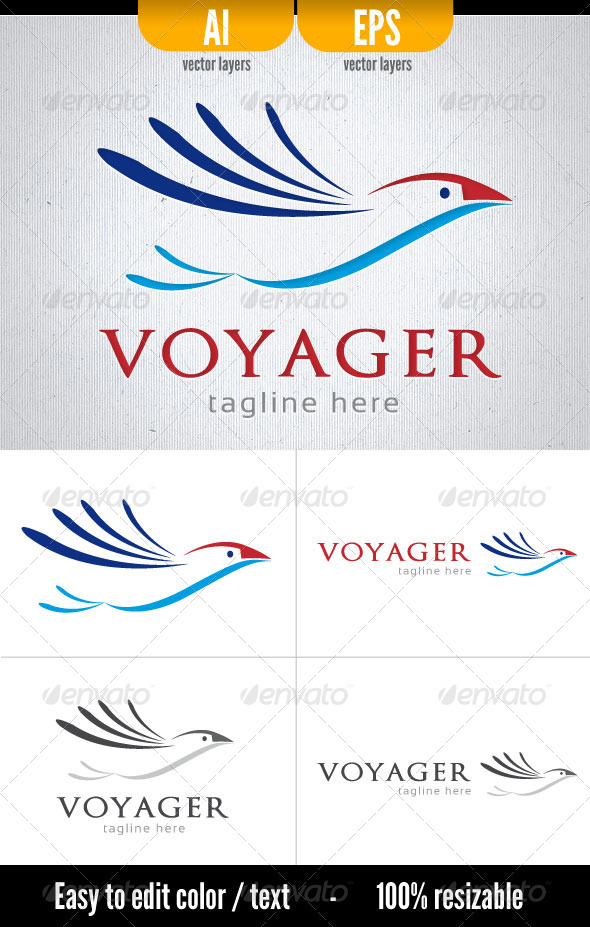 Voyager - Animals Logo Templates