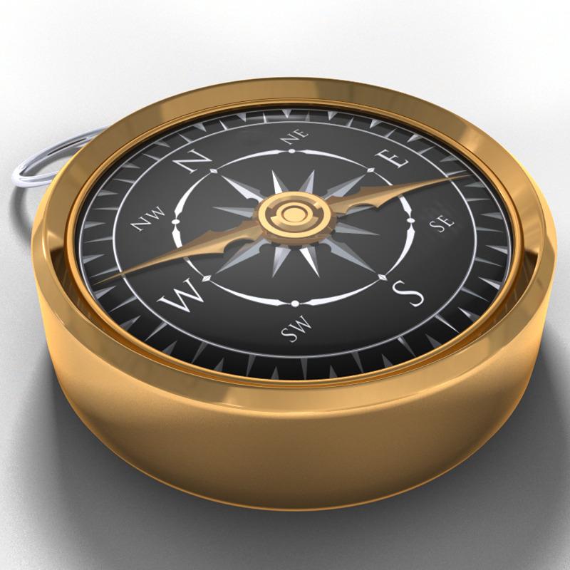 3DOcean Antique Compass 2736277