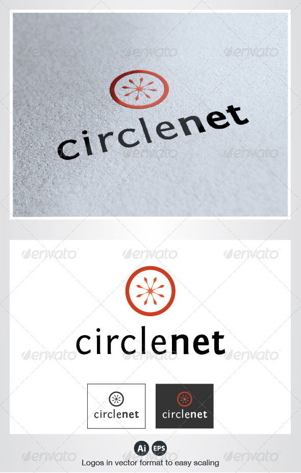 Circle Net Logo - Symbols Logo Templates