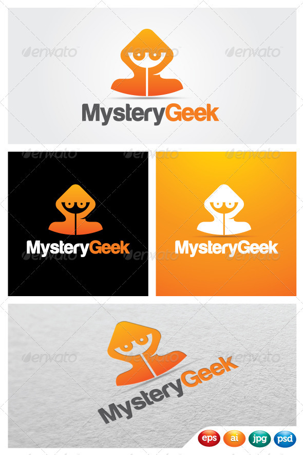 MysteryGeek - Humans Logo Templates