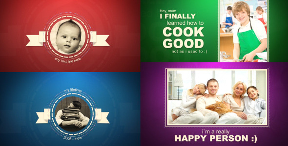 After Effects Project - VideoHive Person Timeline 2739661
