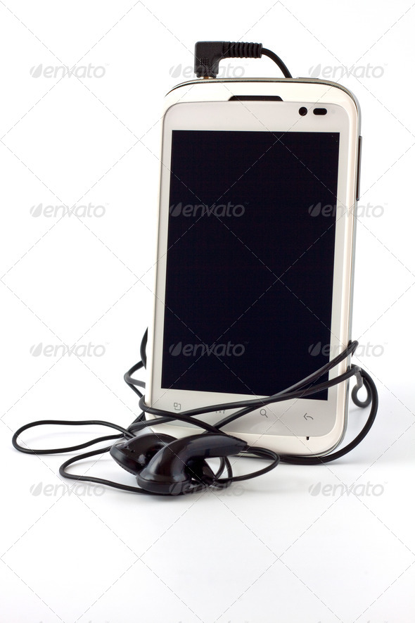 Cell bar phone - Stock Photo - Images