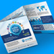 Socialika Tri-fold Social Media Brochure - GraphicRiver Item for Sale